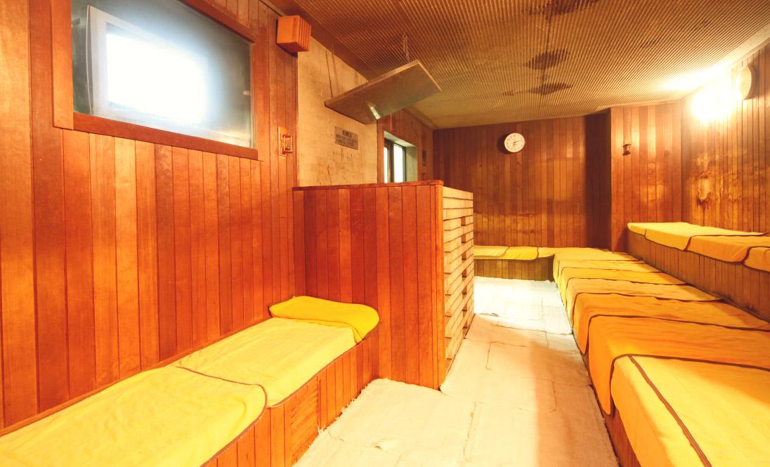 兵庫県神戸市新開地「アサヒ カプセル&サウナ」サウナ画像