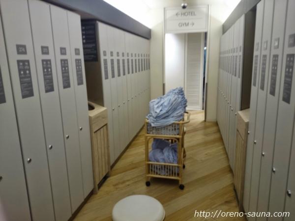「CABANA」ロッカールーム画像