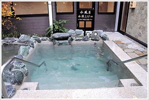 「小さな旅 川越温泉」水風呂画像