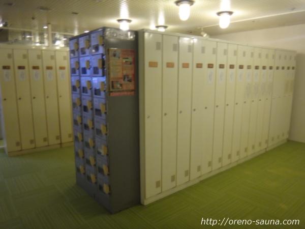 神戸三宮「神戸クアハウス」ロッカー画像