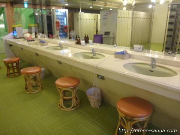 神戸三宮「神戸クアハウス」洗面台画像