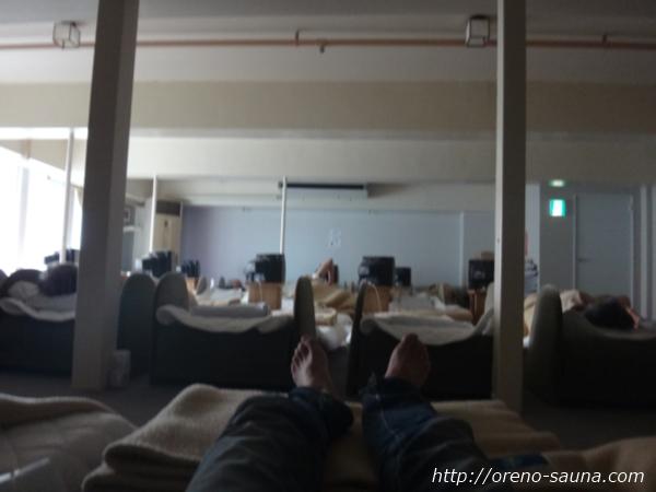 神戸三宮「神戸クアハウス」仮眠室画像