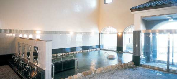 淡路島「美湯松帆の郷」浴室画像