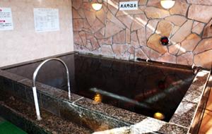 「東京荻窪天然温泉・なごみの湯」露天風呂画像