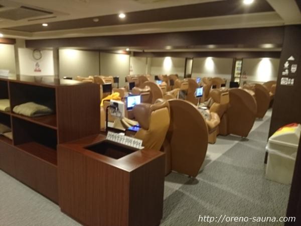 「サウナレインボー新小岩店」休憩室画像