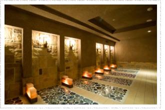 「横浜天然温泉 SPA EAS(スパ イアス)」岩盤浴ルーム「瑪瑙(めのう)」画像