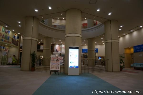 大阪府浪速区「スパワールド 世界の大温泉」吹き抜け画像