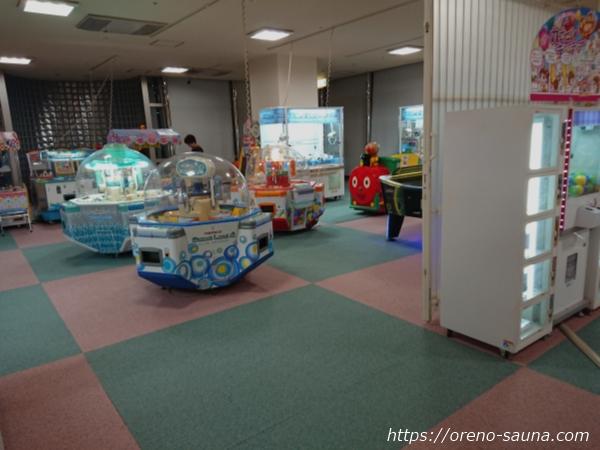 石川県金沢市「テルメ金沢」ゲームコーナー画像