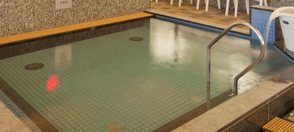 愛知県名古屋「天然温泉アーバンクア」水風呂画像